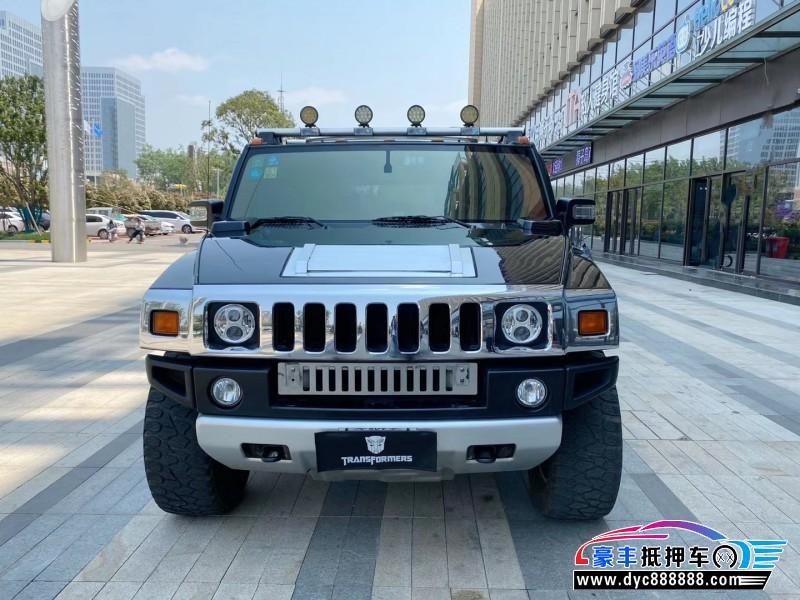 抵押车出售09年悍马H2SUV