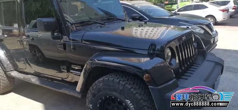 抵押车出售14年Jeep牧马人SUV