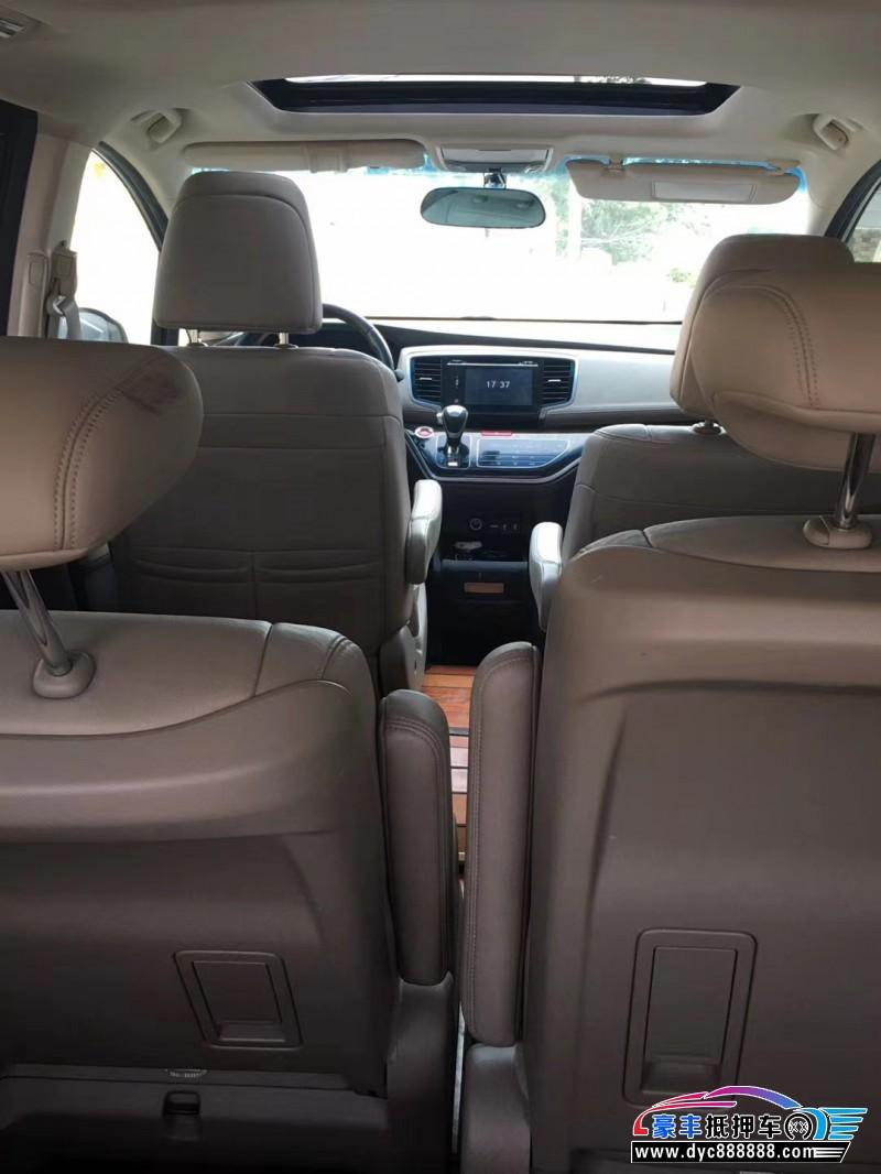 16年本田奥德赛MPV抵押车出售