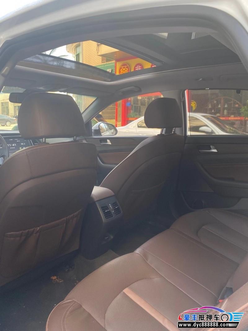 20年现代索纳塔轿车抵押车出售