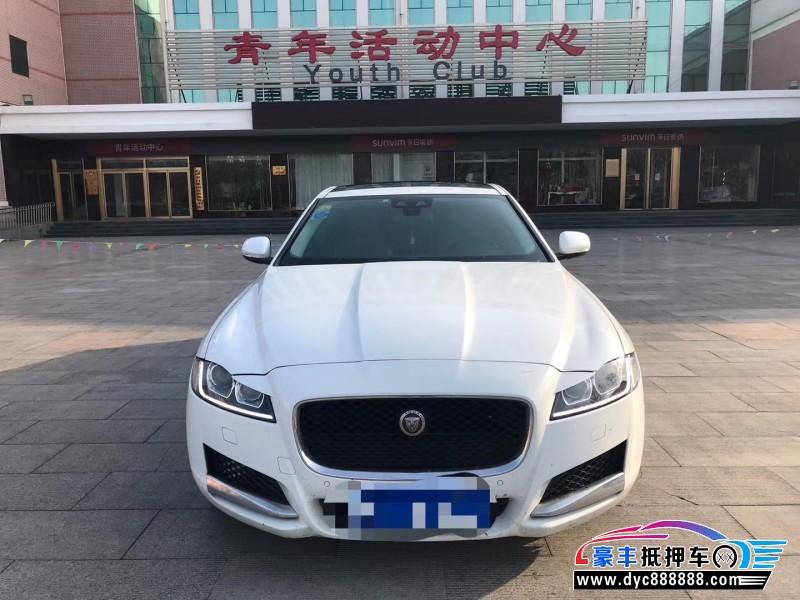 抵押车出售16年捷豹XFL轿车