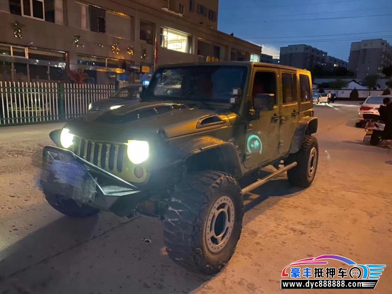 08年Jeep牧马人SUV抵押车出售
