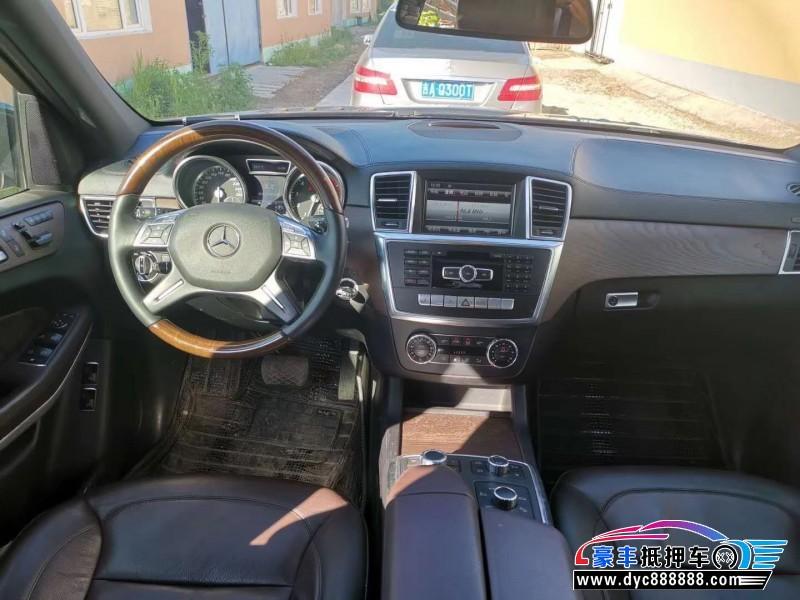 14年奔驰GLSUV抵押车出售