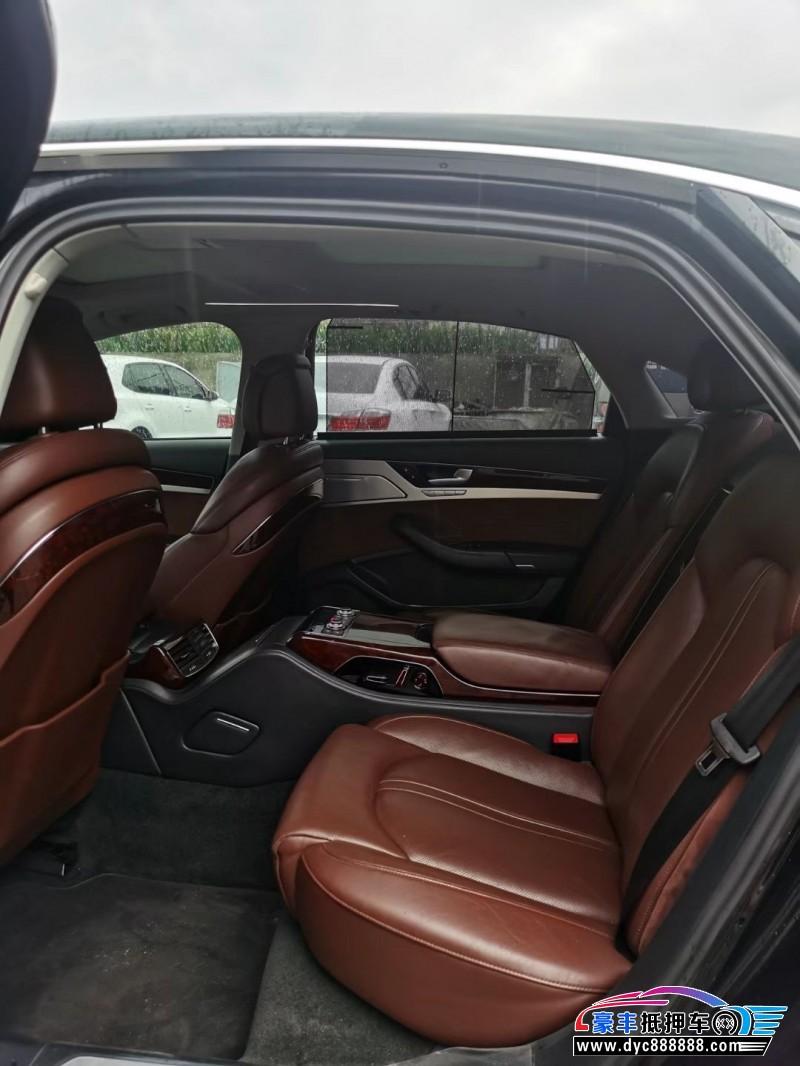 12年奥迪A8轿车抵押车出售