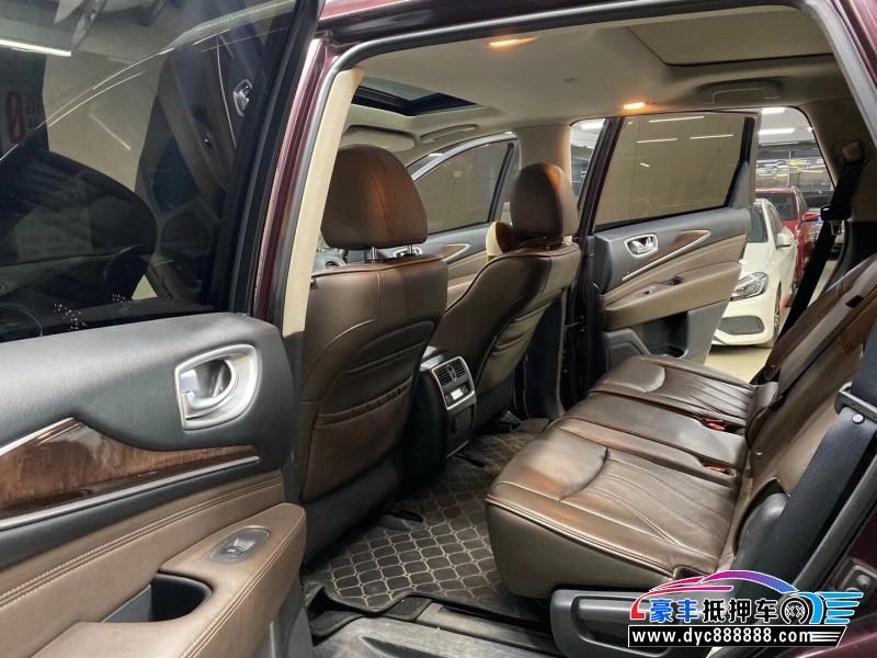14年英菲尼迪QX60SUV抵押车出售