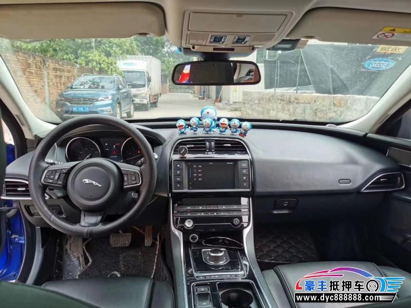 抵押车出售18年捷豹XE轿车