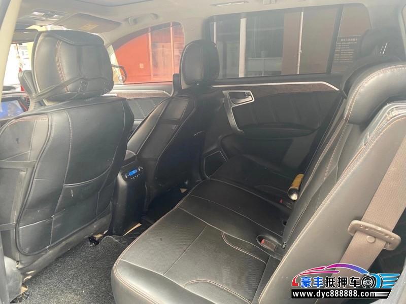 15年吉利汽车EX9SUV抵押车出售