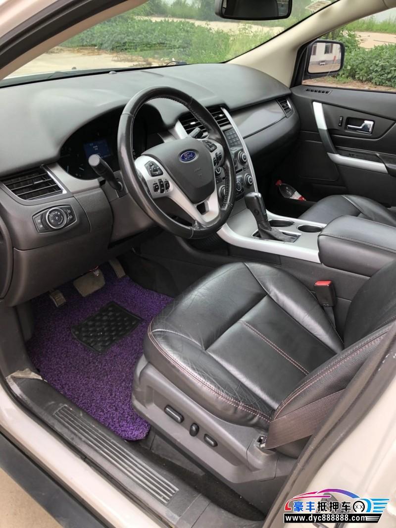 13年福特锐界SUV抵押车出售