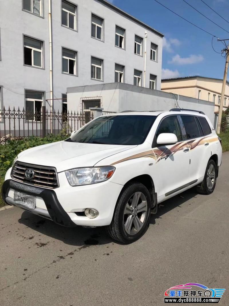 抵押车出售10年丰田汉兰达(进口)SUV