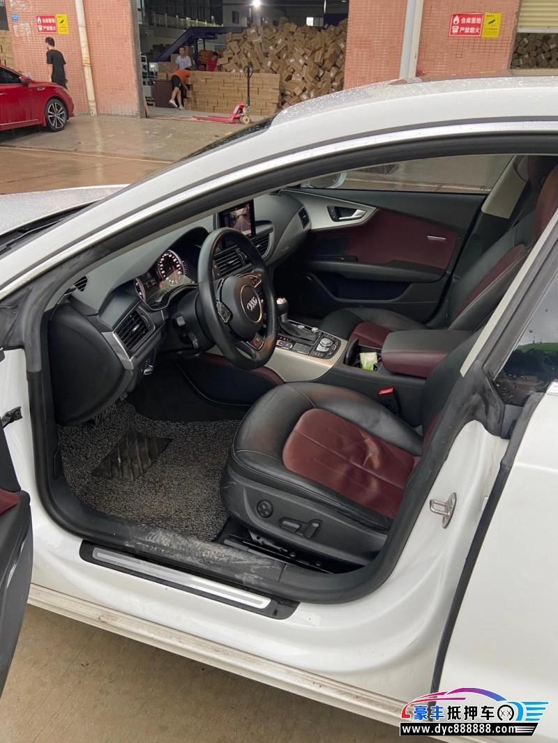 抵押车出售15年奥迪A7轿车