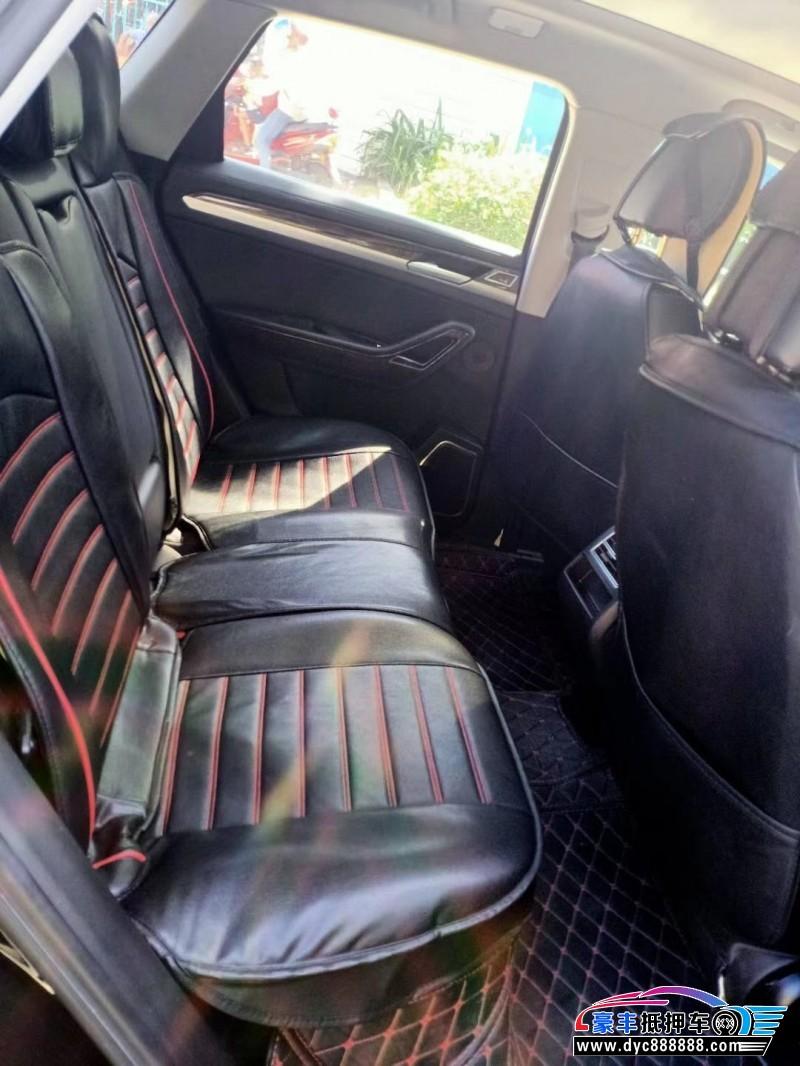 17年众泰大迈X7SUV抵押车出售