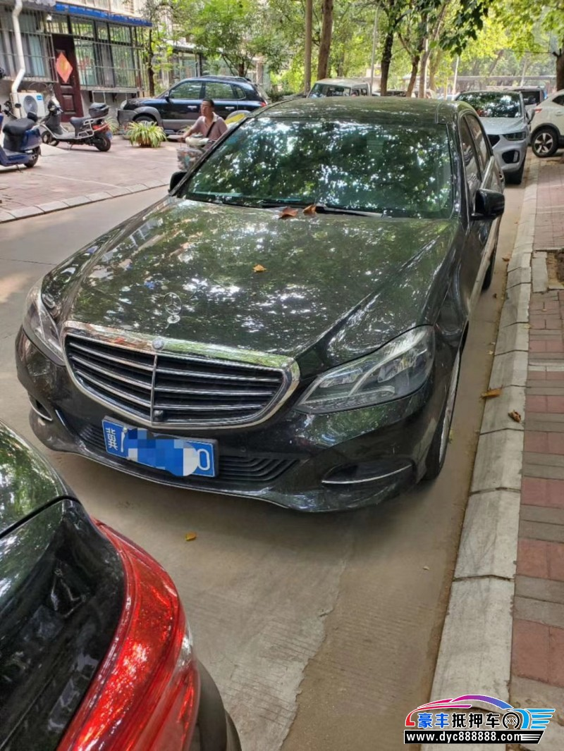 14年奔驰E轿车抵押车出售