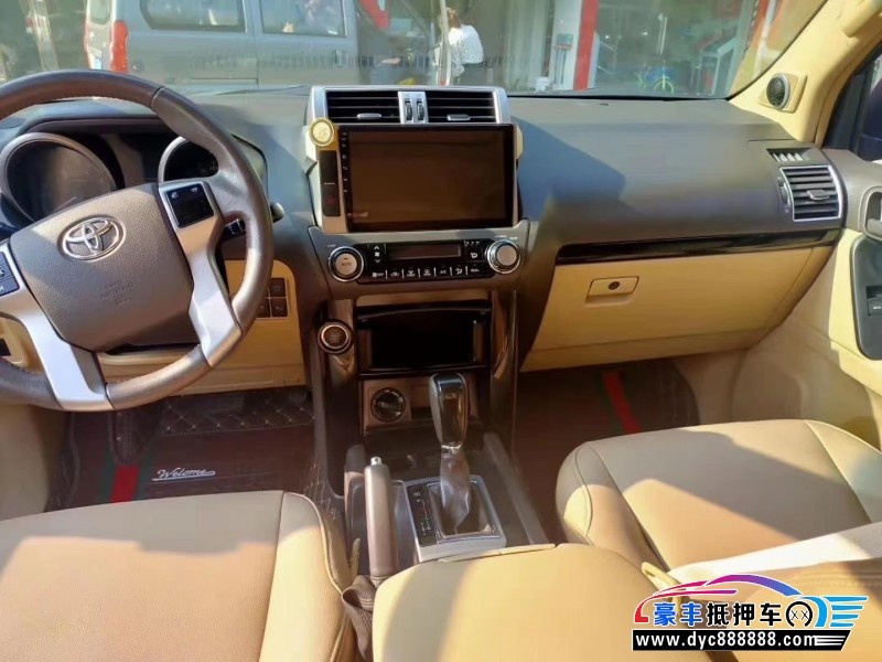 16年丰田普拉多SUV抵押车出售