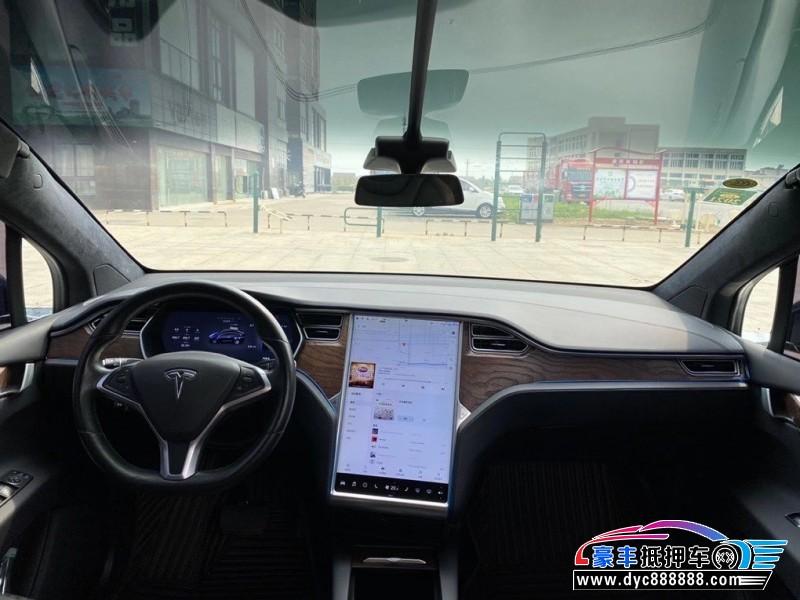 抵押车出售17年特斯拉MODEL XSUV