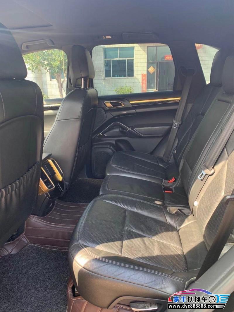 14年保时捷卡宴SUV抵押车出售