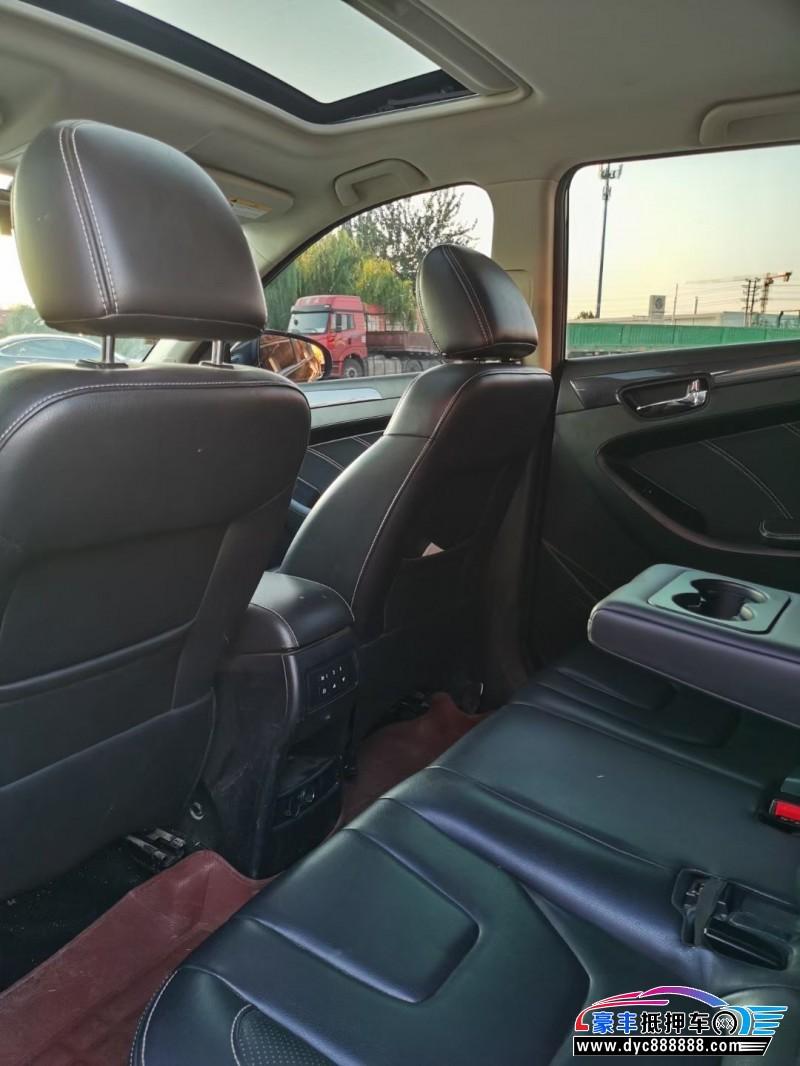 抵押车出售17年东风风光580SUV