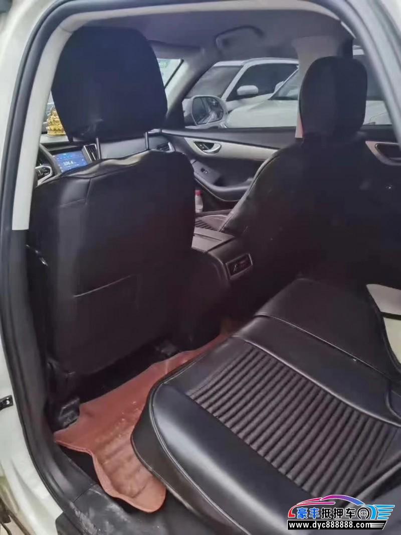 19年众泰SR7SUV抵押车出售