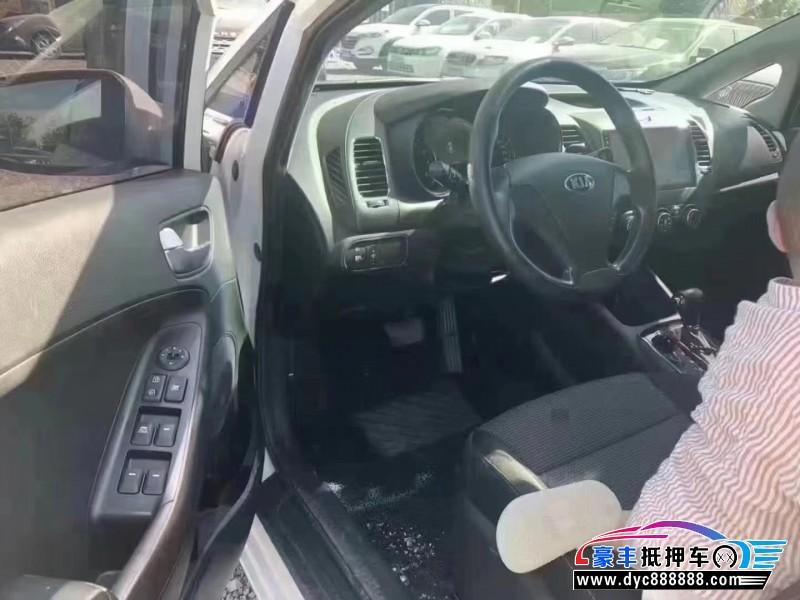 抵押车出售18年起亚K3轿车