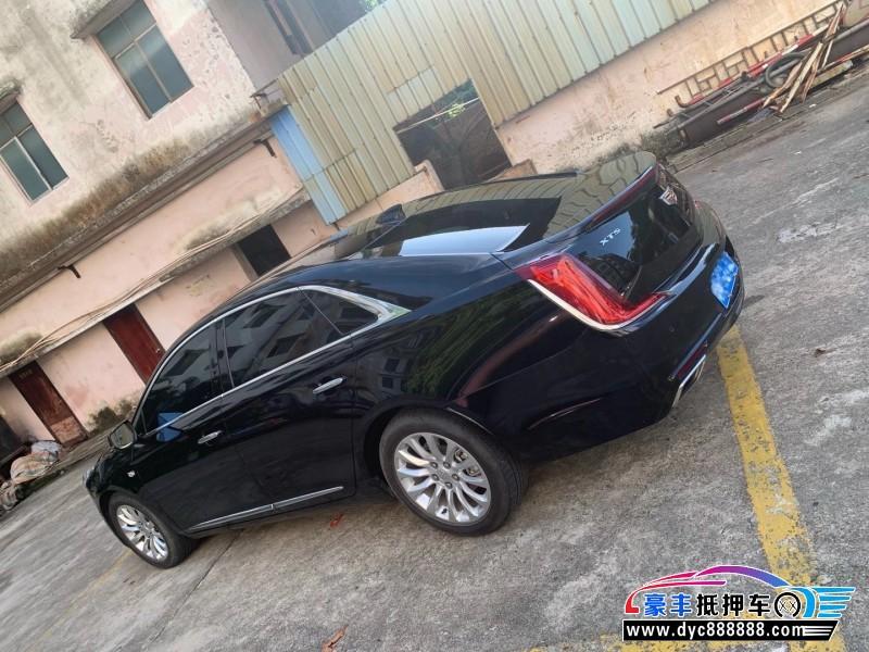抵押车出售19年凯迪拉克XTS轿车