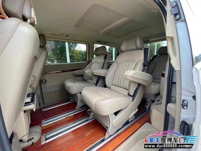 14年奔驰唯雅诺MPV抵押车出售