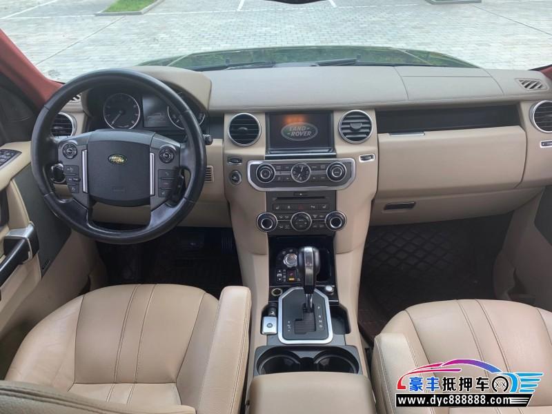 10年路虎发现4SUV抵押车出售