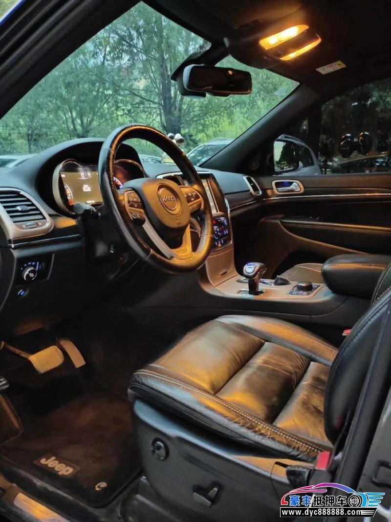 抵押车出售14年Jeep切诺基SUV