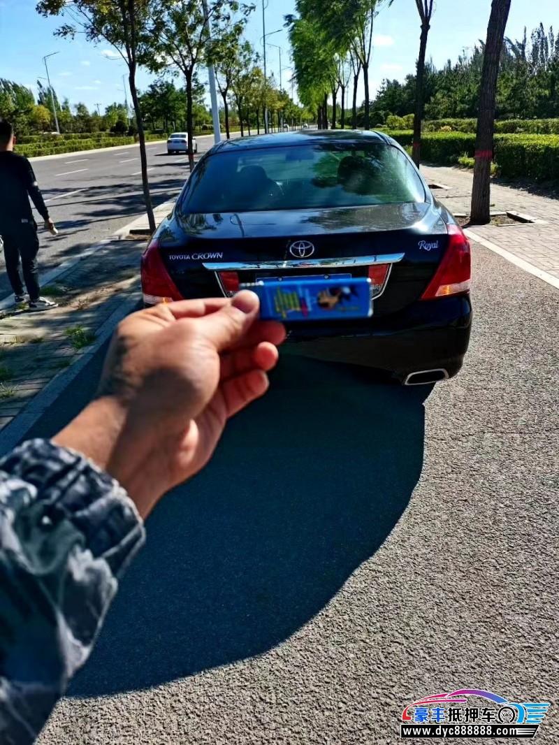 11年丰田皇冠轿车抵押车出售