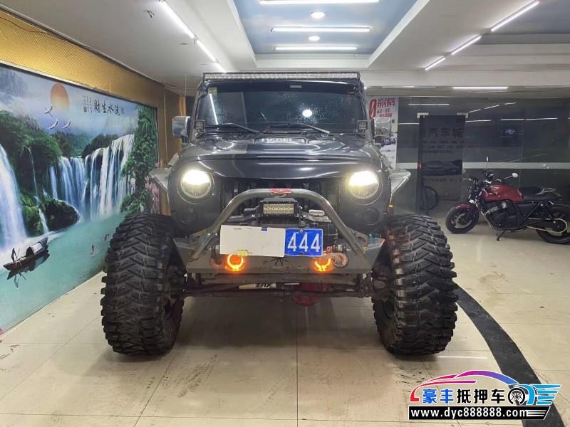 抵押车出售12年Jeep牧马人SUV