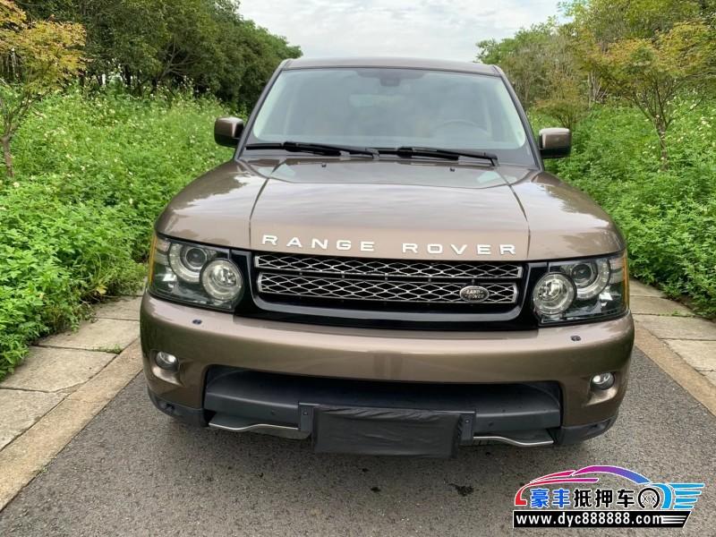 12年路虎揽胜运动版SUV