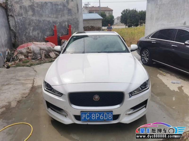 抵押车出售16年捷豹XE轿车