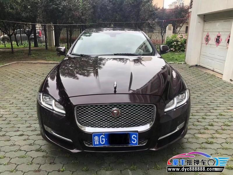 抵押车出售16年捷豹XJL轿车