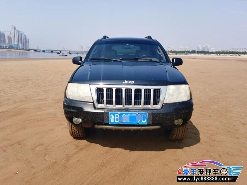 抵押车出售04年Jeep大切诺基SUV