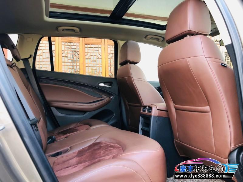 17年别克昂科威SUV抵押车出售