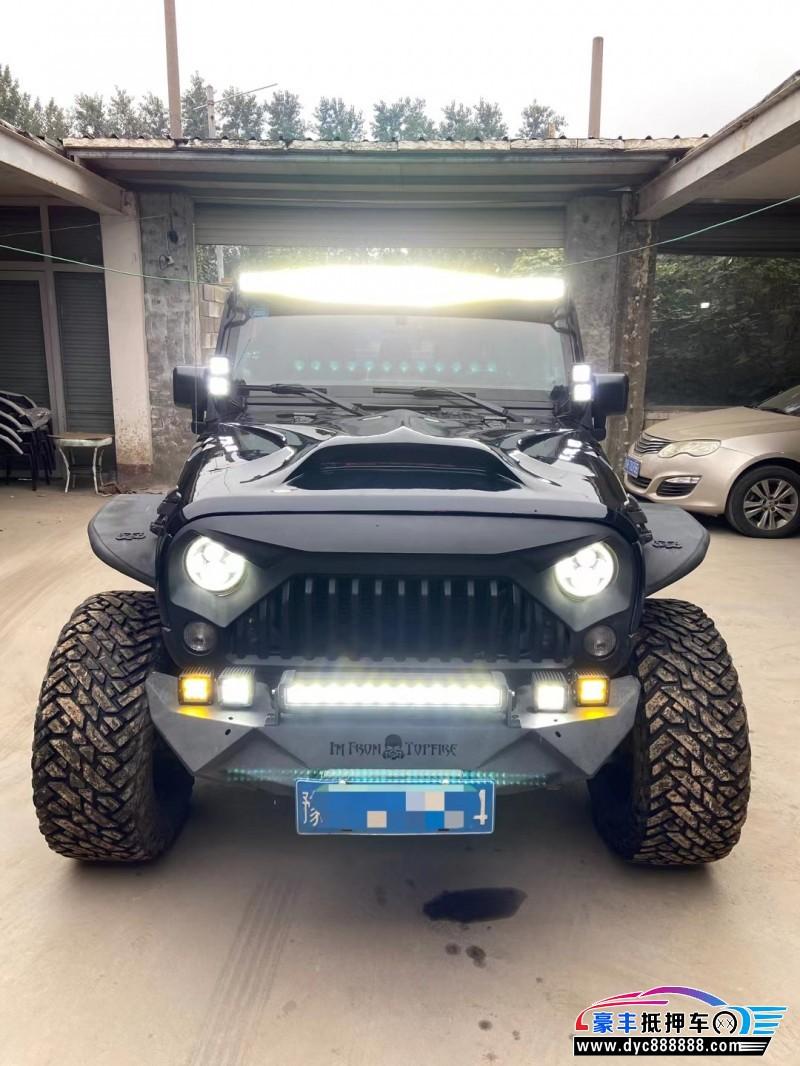 抵押车出售15年Jeep牧马人SUV
