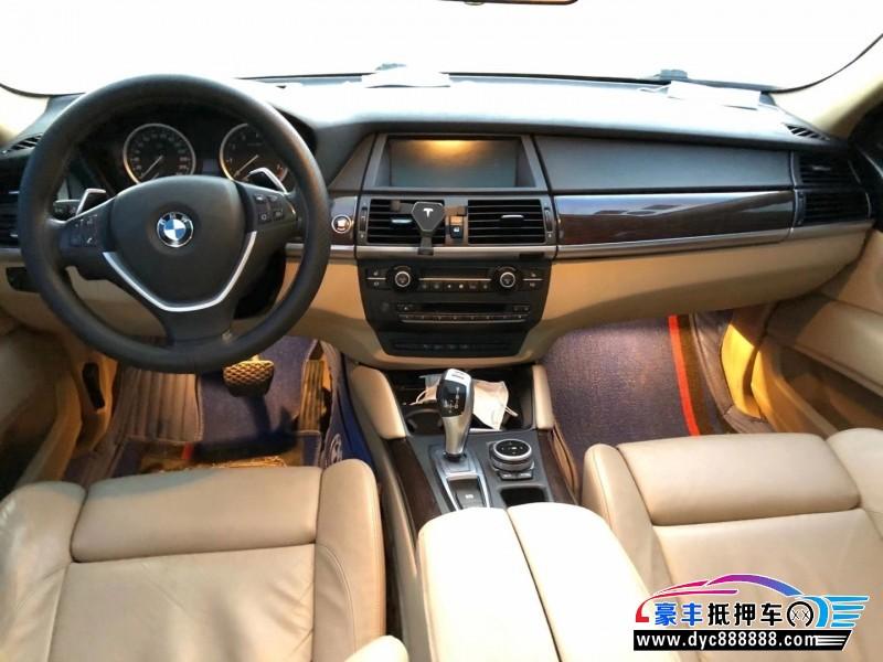 11年宝马X6SUV抵押车出售