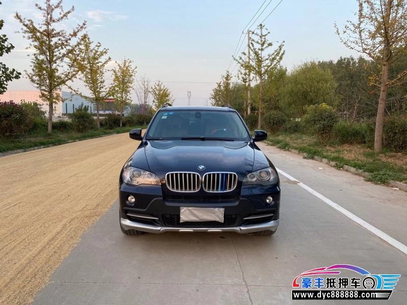 09年宝马X5SUV抵押车出售
