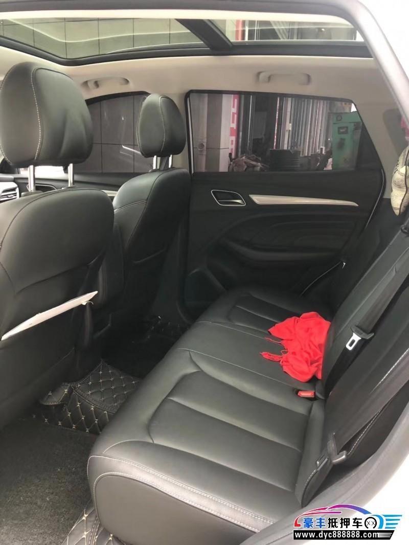 18年荣威RX3轻客抵押车出售