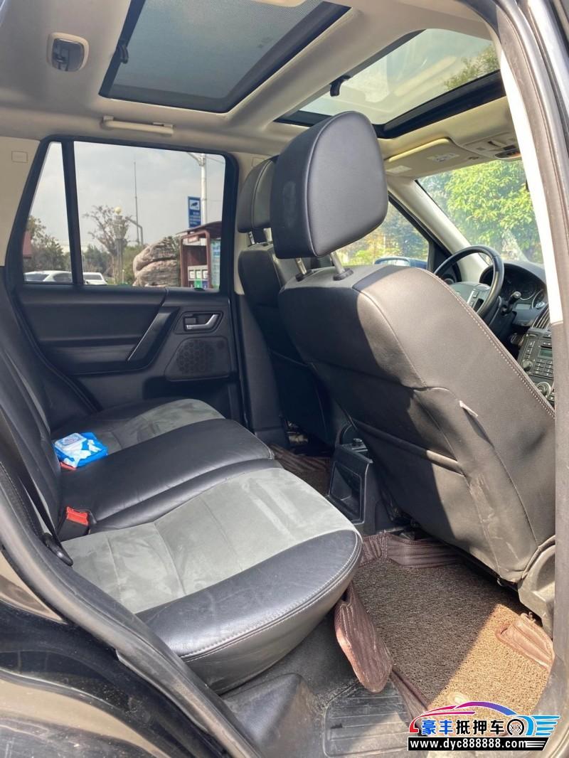 12年路虎发现神行SUV抵押车出售