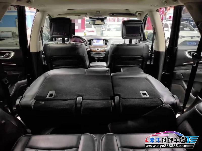 抵押车出售14年英菲尼迪JX35SUV