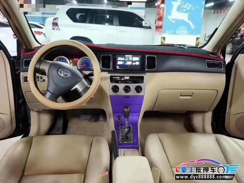 抵押车出售14年丰田花冠轿车