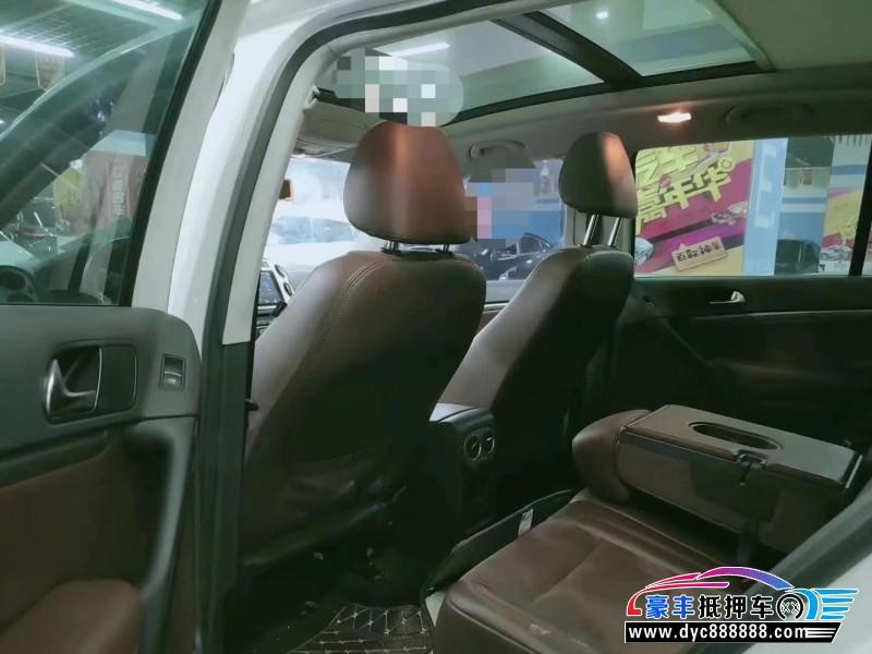 13年大众途观SUV抵押车出售