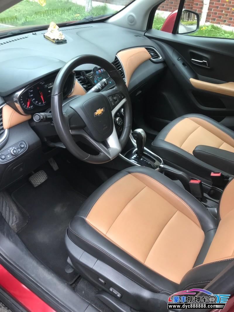 抵押车出售18年雪佛兰创酷SUV