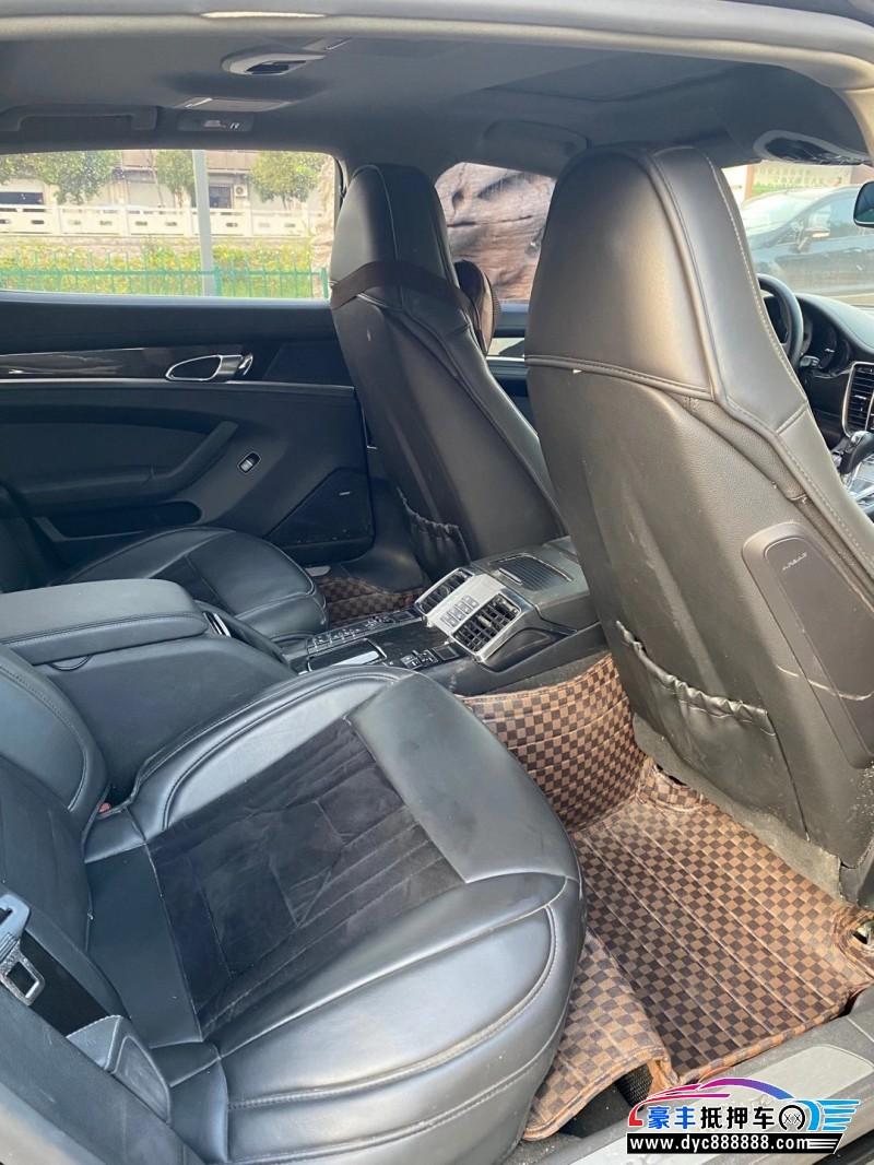 13年保时捷帕纳梅拉轿车抵押车出售