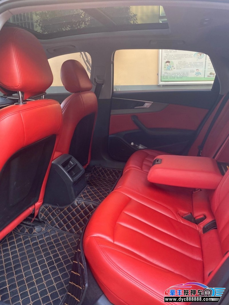 16年奥迪A4轿车抵押车出售