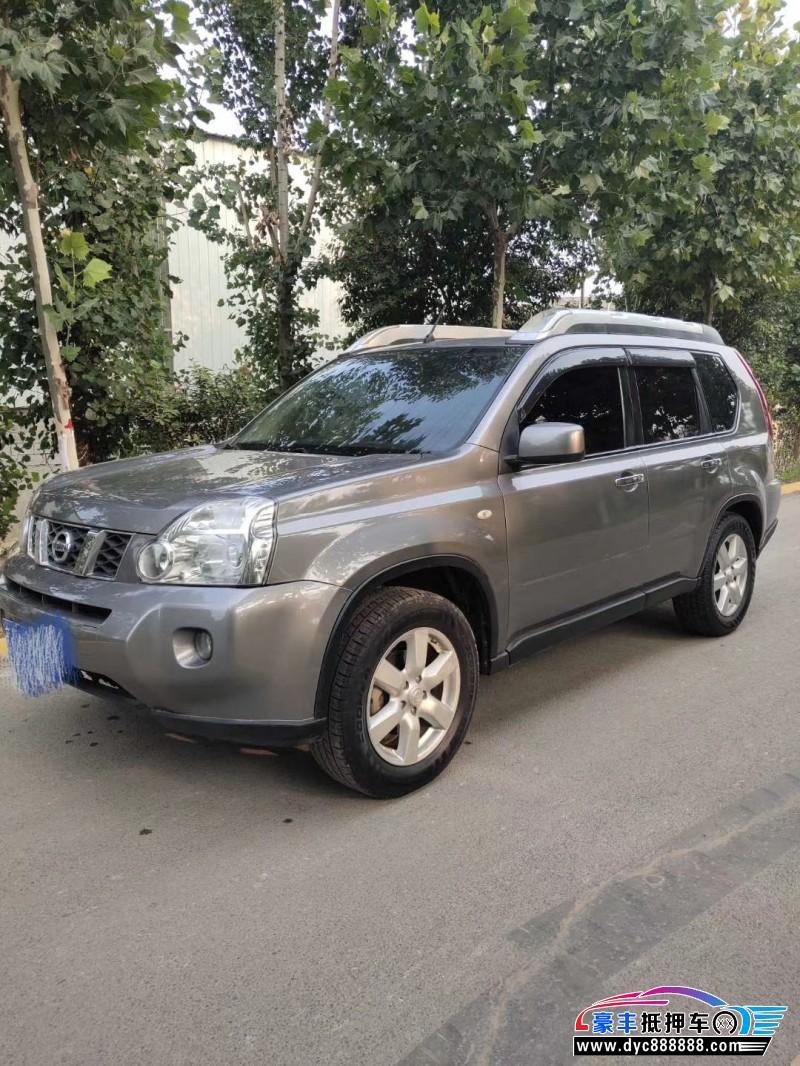 11年日产奇骏SUV抵押车出售