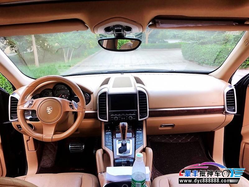 抵押车出售11年保时捷卡宴SUV