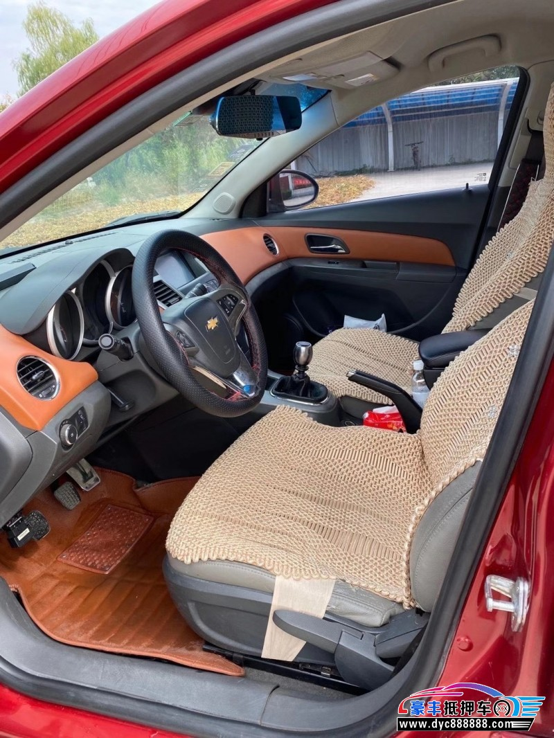 抵押车出售11年雪佛兰科鲁兹轿车