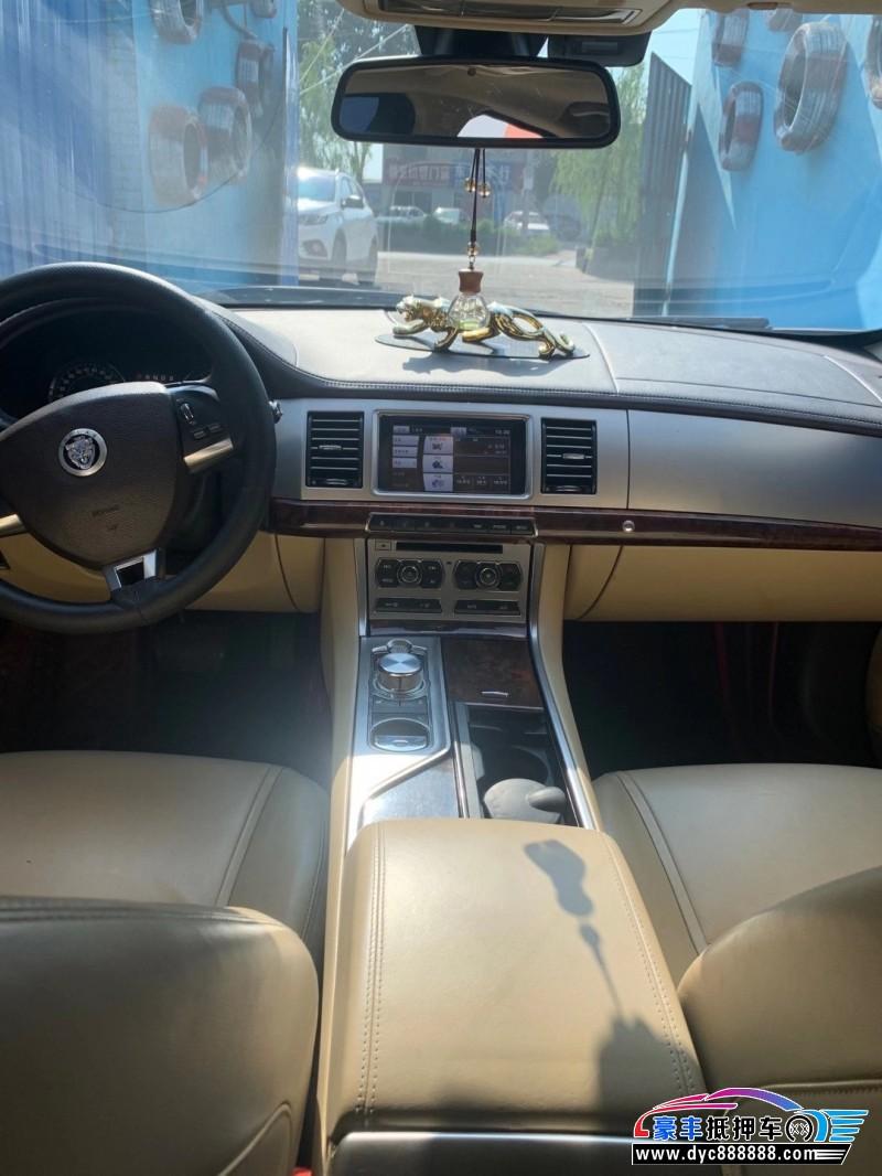 抵押车出售11年捷豹XJL轿车