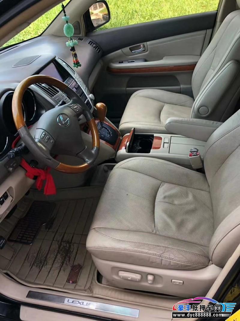 09年雷克萨斯RXSUV抵押车出售