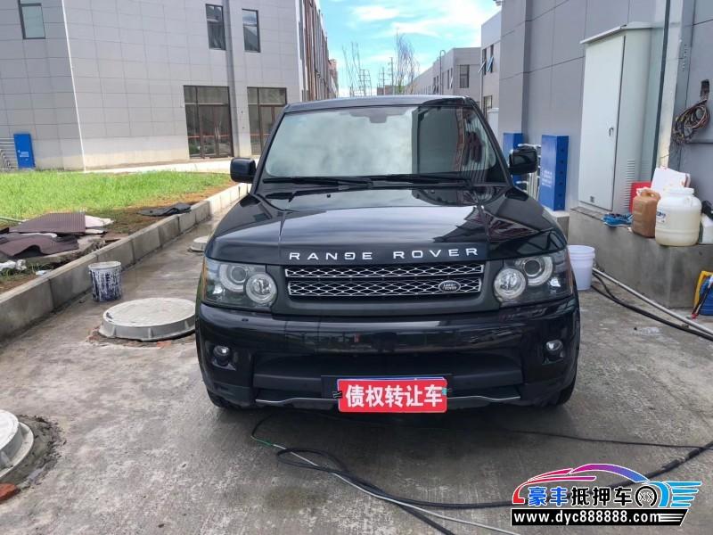 抵押车出售12年路虎揽胜运动版SUV